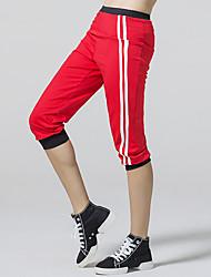 Corrida Calças / 3/4 calças justas / Fundos Mulheres Respirável / Redutor de SuorTaekwondo / Boxe / Alpinismo / Exercicio e Fitness /