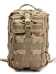 25L L Hiking & Backpacking Pack Camping & HikingPerformance Wearable / Multifunctional / MoistureproofGreen / Black