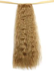 парик золотой 50см воды синтетическая высокая температура проволоки горячая кукуруза хвоща цвета 27x