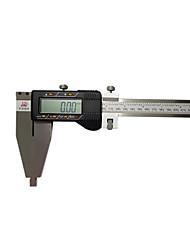precisão 0-600mm 0,01 ferramenta de medição do nível de instrumento eletrônico paquímetro digital