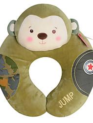 metoo de forme u singe dessin animé oreiller en peluche mascotte de singe d'anniversaire de création en forme de U oreiller camouflage