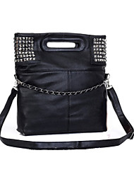 Women PU Formal / Casual / Office & Career / Shopping Tote White / Black