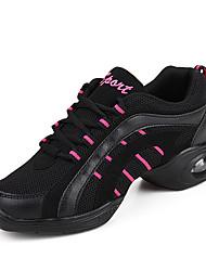 Chaussures de danse(Jaune / Rouge / Blanc) -Non Personnalisables-Talon Cubain-Synthétique-Baskets de Danse