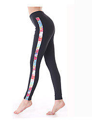 Yokaland Perfection Slim Fit Yoga and Fitness Angle Legging with Print