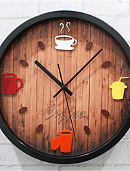 Coffee Pot Wall Clock