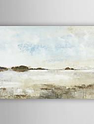 mão pintura a óleo pintados mar solidão paisagem com moldura esticada arts® 7 parede
