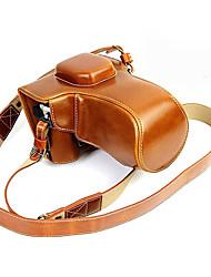 sac slr pour olympus brun