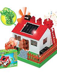 crianças ciência e ciência experimental educacional diy música solares casa brinquedos educativos