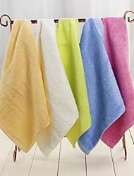 5pc Pack Random Color Hand Towel Bamboo Feber High Quality Super Soft