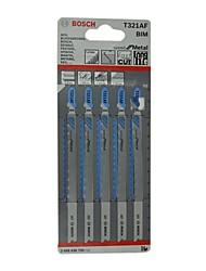 Bosch® t321af curva lâmina de metal serrilhado 1,2 milímetros 132 milímetros lâmina de corte alongado