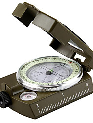 Foldable multifunctional military luminous student movement outdoor camping survival compass