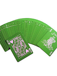 From Bicycle Poker Card Collection Series Powder Green Magic Props Board Game Card