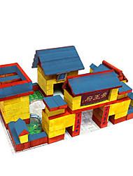 мои керамические строительные кирпичи здание игрушка последние мини моделирования поделки игрушки архитектор 318pcs