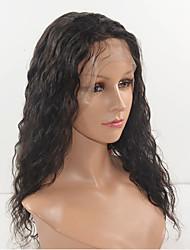 14-18inch Menschenhaarspitze-Frontseitenperücken der verworrenen Menschenhaarspitzeperücken curl