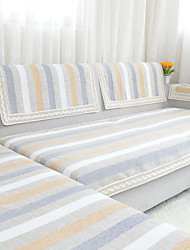 High-grade Stripe Sofa Towel Slip-resistant Fabric Sofa Cushion Sofa Sets