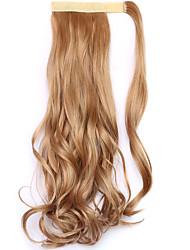 borwn comprimento 45 centímetros a nova velcro peruca de rabo de cavalo (cor 26)