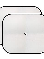 2pcs 44 * 36cm schwarz Mesh Sonnenschirm Autoseite Zaun Anti-UV Sonnen Isolierung
