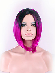 Best-selling Europe And The United States A Wig Black Gradient Mei Red Cent BOBO Head in A Wig