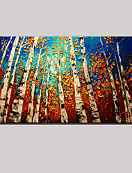 arte da parede pinturas a óleo paisagem estilo europeu pintadas à mão com esticada emoldurado