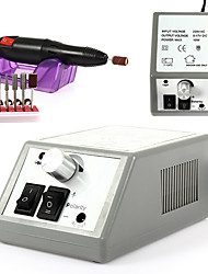 110V-120V 20000 RPM &25000 RPM With 6 Electric Nail File Drill Bits AND 6 Sanding Bands,Low Noise and Vibration