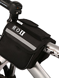 BOI® Bike Bag 2LBike Frame Bag Waterproof Zipper / Wearable / Moistureproof / Shockproof Bicycle Bag 600D Polyester Cycle Bag Cycling/Bike
