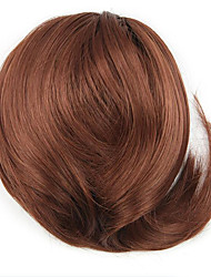 peruca vinho tinto de cor duração do contrato cordão cinco centímetros sintética crespo encaracolado alta temperatura 7008