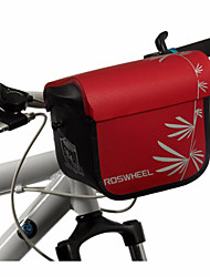 ROSWHEEL® велосипед сумка 3LБардачок на руль / СумкаВодонепроницаемая застежка-молния / Влагонепроницаемый / Ударопрочность / Пригодно