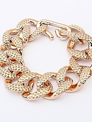 Alloy / Gold Plated Bracelet Chain & Link Bracelets Wedding / Party / Daily / Casual 1pc