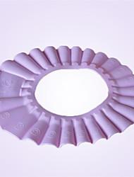 Safe Shampoo Shower Cap  Bath And Sunshade Protect Soft Cap Hat For Baby Children Kids (Random Color)