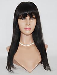 10-24inch perucas de cabelo sintético rendas perucas de cabelo retas frente