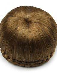 mariée crépus or bouclés europe cheveux humains capless perruques chignons sp-002 2005