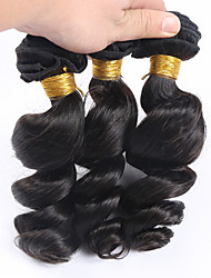 Slove Hair 7A Loose Wave Virgin Hair 3 Bundles/Lot, Cheap Unprocessed Peruvian Hair Human Hair Bundles