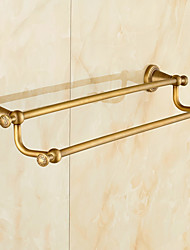 Towel Bar / Brushed / Wall Mounted /30*15*10 /Brass /Antique /60 15 0.774