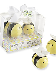 Recipient Gifts - Love Birds Salt and Pepper Shakers Wedding Favors