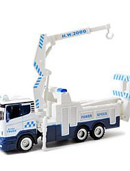 Caminhão do carro do brinquedo das crianças 01:48 traseira de escavadoras de brinquedo modelo de carro liga de 1:48 do carro expressas