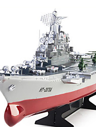 RC Boat HengTai 1:275 4CH Remote Control Challenger Warship Aircraft Carrier High-speed Large Electronic Model HT-2878A For Kids Toys