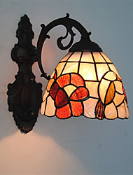 7 inch Retro Tiffany Wall Lights Shell Shade Living Room Bedroom light Fixture