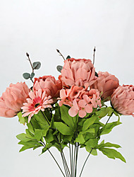 European Large Flower Peony Flower Kit Simulation Artificial Flower for Wedding