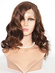 Short Body Wave Human Hair Lace Wigs 10-14inch Remy Hair Lace Front Wigs