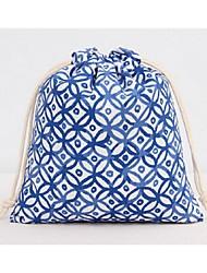 Unisex-Professioanl Use-Cotton-Storage Bag-Blue / Red