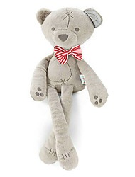 Bear Baby Doll Appease Even Hold Baby Dolls Accompany Sleep Doll Stuffed Toy Red Bow Long-Legged Bear