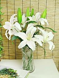 Soie Lis Fleurs artificielles