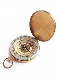 זוהר זהב מצפן מצפן שעון להעיף כיס