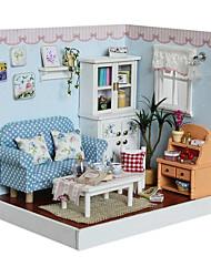 agile frais bricolage à la main à la main cabane en bois cabane cabane modèle jouets produits éducatifs