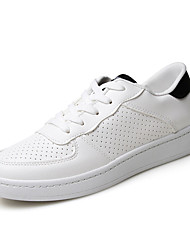 MasculinoConforto-Rasteiro-Branco / Preto e Branco-Couro Ecológico-Casual