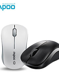 orginal rapoo 6010b Bluetooth-Maus Mini Bluetooth 3.0 Wireless Desktop Notebook-Maus schwarz / weiß