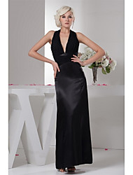 Sheath / Column Mother of the Bride Dress Ankle-length Chiffon with Pleats