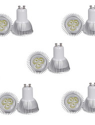 10pcs HRY® 3W GU10 350LM Warm/Cool White Color Light LED Spot Lights(85-265V)