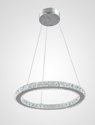 "Crystal Chandeliers Ceiling Pendant Light Lamps Fixtures for Hotel Cafe with D15.75"" CE FCC ROHS"