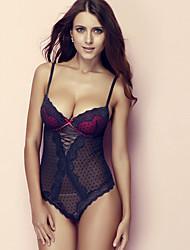 ONICE® Femme Polyester Chemises de Nuit &  Robes-ANS-359